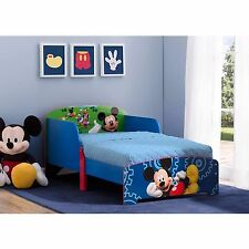 Wood Toddler Bed Mickey Mouse & His Best Friends Kids Disney Bedroom Furniture