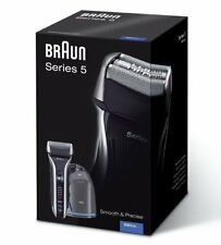 BRAUN 590cc-3 MENS CORDLESS/RECHARGEABLE SHAVER +CLEAN & CHARGE RENEW SYSTEM NEW
