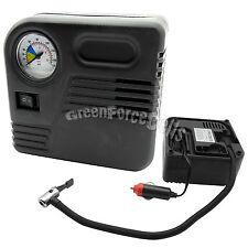 Portatile 12V Auto Pompa Compressore Aria Gomma Gonfiaggio Letti ad aria