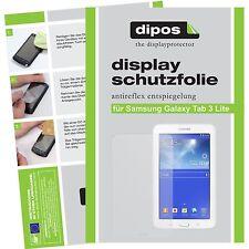 2x dipos Samsung Galaxy Tab 3 Lite 7.0 T110 matte Displayschutzfolie Antireflex