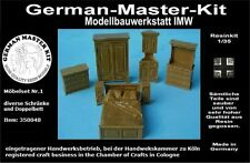 350048, muebles set no. 1, armarios, etc., 1:35 resin, gmkt World of War II