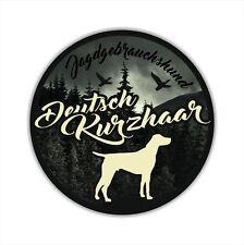 A_JGH Auto Aufkleber DEUTSCH KURZHAAR Jagdhund Hundeaufkleber Hunde SIVIWONDER