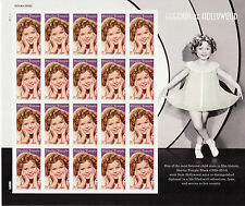 SHIRLEY TEMPLE STAMP SHEET -- USA #5060 FOREVER 2016 LEGENDS OF HOLLYWOOD