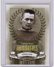 GEORGES VEZINA 11/12 ITG Forever Rivals Immortals #I-01 Insert Card Canadiens