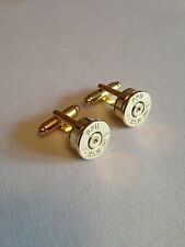 Bullet head .44 Magnum cufflinks - shooting hunting rifle wedding ideal gift!!!!