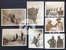 LE DRAME DU MONT CERVIN Luis TRENKER Alpes Alpinisme Montagne 7 Photos 1928