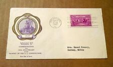 1937! 150th Anniv. of the Signing of U.S. Constitution! 3 Cent Stamp! Good Cond!