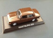 WARTBURG 353 MODEL DIECAST IXO /IST LEGENDARY CARS 1/43 BA38