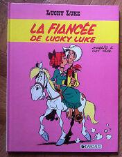LUCKY LUKE TOME 24 LA FIANCEE DE LUCKY LUKE  EO PROCHE DU NEUF  (B53)