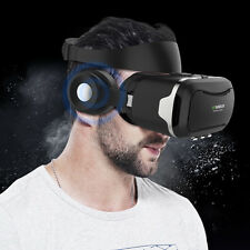 VR Shinecon 4.0 Pro 3D VR Headset Virtual Reality Goggles w/Detactable Earphone