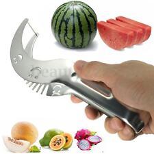 Affetta Taglia Anguria Melone Frutta Coltello Sorriso Acciaio Inox Affettatrice