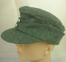 WWII German WH EM wool panzer M43 field cap hat M-cap23