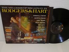 VARIOUS ARTISTS Melodies Of Broadway By Rodgers & Hart LP United Artists UAL3273