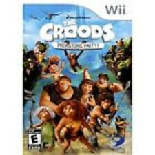 The Croods: Prehistoric Party GAME NINTENDO Wii and Wii U **FREE SHIPPING!!