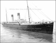 Photo: Rare New View: White Star Line's RMS Majestic, NY, 1903