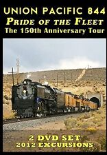 UNION PACIFIC 844 PRIDE OF THE FLEET THE 150TH ANNIVERSARY TOUR NEW DVD VIDEO