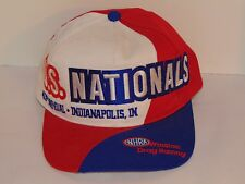 VINTAGE 1997 NHRA US NATIONALS HAT/CAP! WINSTON DRAG RACING, INDIANAPOLIS, IN!