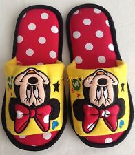 Women Men Disney Mickey Minnie Mouse Plush Slippers Shoes US size 6-10, UK 4-8