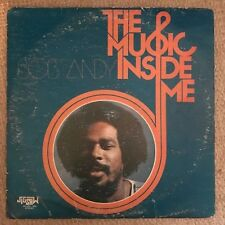 Bob Andy - The Music Inside Me - Jigsaw LP 33T Rare Roots Reggae 1975 ♫
