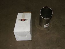 "4"" DUMP PIPE REDBACK 304 CHROME EXHAUST TIP"