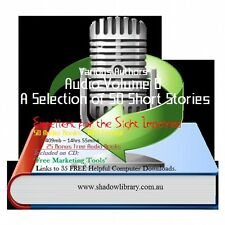 CD - 50 Short Stories Audio Books Vol 8 - Sight Impaired, Blind  - Resell