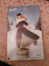 Victoriano Patinador Hielo Muñeca Barbie Musical apenas edición especial estado fuera de caja