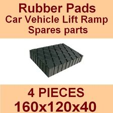 Universal Scissor Lift Pads - H40 - Ramp Rubber Blocks - Made in Italy