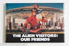 "V Visitors ""Our Alien Friends"" FRIDGE MAGNET (2 x 3 inches) poster tv show"