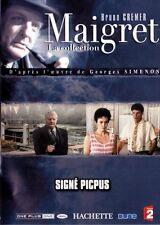 27096// COLLECTION MAIGRET BRUNO CREMER SIGNE PICPUS DVD EN TBE