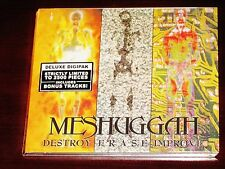Meshuggah: Destroy Erase Improve - Deluxe Limited Edition CD 2013 NB Digipak NEW