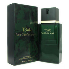 TSAR for Men by Van Cleef & Arpels 3.3 oz EDT Eau de Toilette Spray New in Box