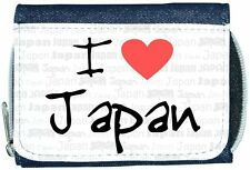 I Love Heart Japan Denim Wallet