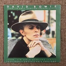 "David Bowie 'John, I'm Only Dancing' 7"" (BOW4, 1979, Ziggy Stardust, RCA)"