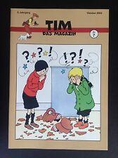 RARE SELTEN Revue Allemande Tim Das Magazin N° 7 Tintin 2003 500 ex Neuwertig