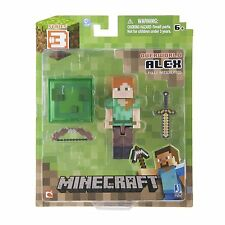 Minecraft Overworld 3 inch Action Figure Pack - Alex - 16513 - New
