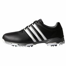 Adidas Men's 360 Traxion Golf Shoes F33404 Sizs 9.5 Wide Blk/Wht