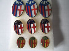 lotto 9 pins lot BOLOGNA FC club spilla football calcio soccer futbol spille