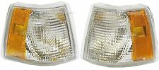 1993-1997 Volvo 850 Park Turn Signal Side Marker Lamp Set/Pair(Left & Right)