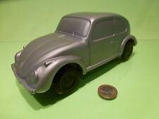 VINTAGE PLASTIC OLD VW VOLKSWAGEN BEETLE - PROMO - GREY L23.0cm - WEST GERMANY