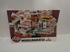 Katalog Modellbausätze AIRFIX Ausgabe Januar 1976