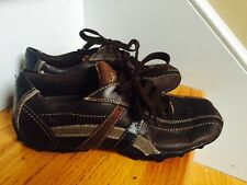 Skechers Sneakers Size 8M brown Leather Great Condition