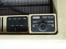 DEC PDP11/24 front panel Vintage Digital Equipment- 70-16958-01