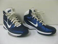 Nike Air Max Blue Athletic Basketball Shoes Size US 8.5