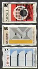 Germany 1983 Modern/Contemporary Art/Bauhaus/Painting/Buildings 3v set (n21877)