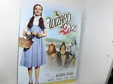 The Wizard Of Oz-Judy Garland`With Her Ruby  Red Slippers,Metal Sign- Free To US