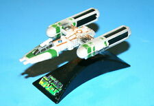 STAR WARS Y-WING FIGHTER GREEN TITANIUM SERIES DIE-CAST LOOSE COMPLETE