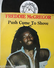 "FREDDIE McGREGOR ~ Glad Youre Here With Me ~ 12"" Single PS"