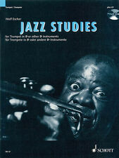 Jazz Studies Trumpet Bb B Flat Learn Improvisation Music Lessons Book CD NEW