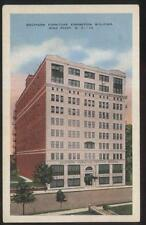 Postcard HIGH POINT North Carolina/NC  Southern Furniture Exposition Bldg 1920's