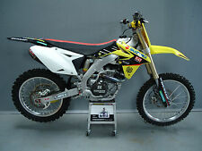 Suzuki RMZ450 2008-2016 Factory Yoshimura graphics kit,seat cover + plastics kit